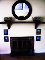 fireplace design by vahpuu