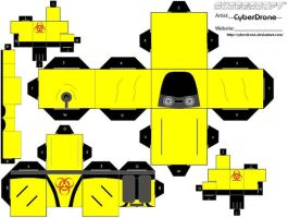 Cubee - Biohazard Suit by CyberDrone