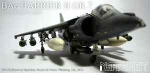BAe HARRIER II GR.7 #2 by Inspirement