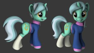 Lyra - Sweater and Socks by Hashbro