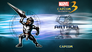 Marvel VS Capcom 3 Arthur by CrossDominatriX5