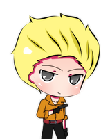 Chibi Gregory for eiko by LadyGloomy