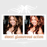 Sweet Glamorous Action by funkyfreshfab