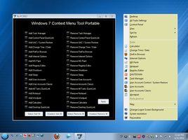 W7 Context Menu Tool Portable by PC2012