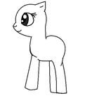 Disgusting Horrible Idiot First pony ''drawing'' by InSaNe-SuNsHine