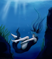 Deep Sea Girl REMAKE by skrillbug