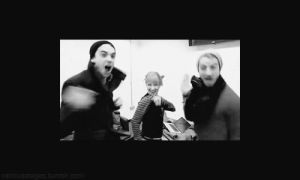 this is dancing gif by MurderxAlemania