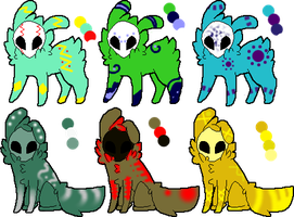 [Skull Fuzzy Adopts!] CLOSED by SmeeteryAdopts