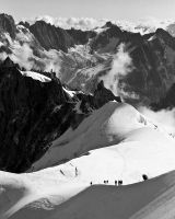 View from Aiguille du Midi by Yslen