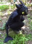 My Toothless Cosplay by aThousandPaws