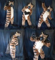 Striped Hyena Fullsuit by Plus3Defense