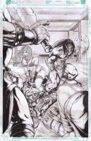 conan and red sonja by ashkel
