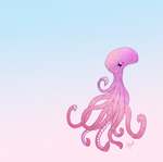 Pink Octopus by Marcynuk