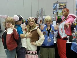 Tiger and Bunny:: Group Antics by DestructiveDoll
