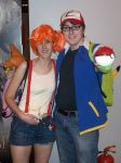 Pokemon Ash and Misty Cosplay by Tommassey250