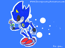 Metal Sonic by Eversgreen13