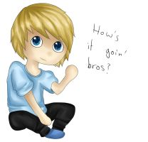 Hows it goin' bros? by flashsteps