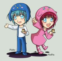 5D : PinPin n Pinbo by Zue
