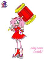 Amy Rose, 6 Yrs Older by yamiseto2