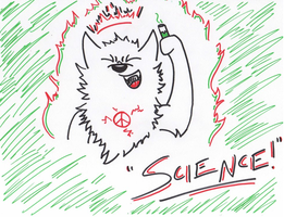 SCIENCE!! -For Chirin's Challenge- by PeaceWolfLegacy
