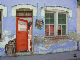 Behind the Red Door by marquitos