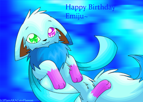 Happy Birthday PokeAnimalsLover by FlareAKACuteFlareon