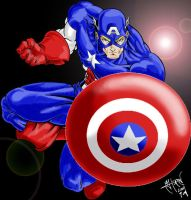 Captain America by soulshadow