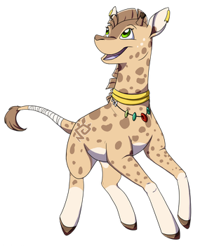 Little Giraffe :commission: by Arcticwaters