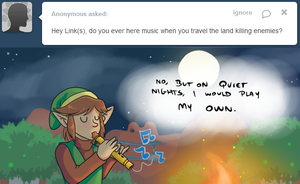 Ask Link - Music by pocket-arsenal