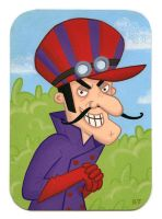 Dick Dastardly by TRAVALE