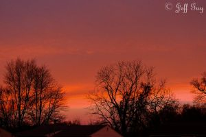 Red Sky In Mourning by jguy1964