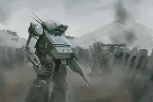 ATM-09-ST Scopedog. VOTOMs. by ksenolog