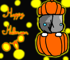 Happy Halloween :D by 1234374s