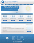 Web Hosting Website Design *FOR SALE* by Perceptible-Designs