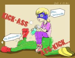 KICK-ASS ASS-KICK by Y0KO
