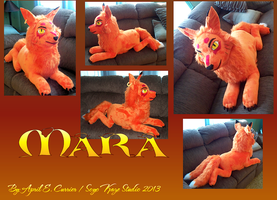 Mara plush by Soyo-Kaze-Studio