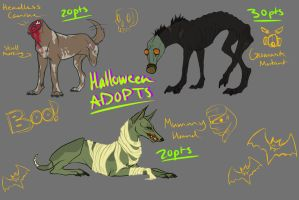 Monster Dog Adoptables - (CLOSED) by Sargeant-Knoxx