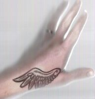 Wing Tattoo by DeathCaller13