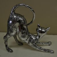 Silver Cat 2 by RecreateStock
