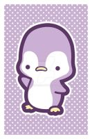 Penguin Postcard by MasumiChi