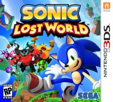 Sonic Lost World 3DS Box Art by Silversonicvxd