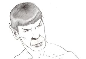 Something about Spock by ColubridCola