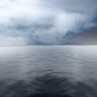 Premade BG Misty Water by E-DinaPhotoArt