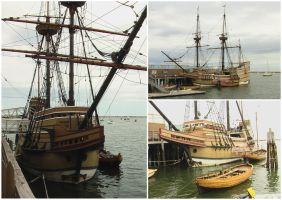 Plymouth, MA - Mayflower II by Ovid2345
