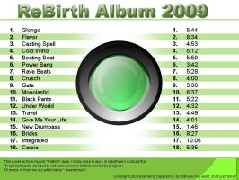 ReBirth Album 2009 -- COVER by mashsmelo