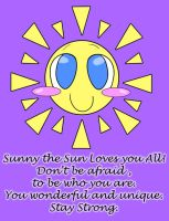 Sunny The Sun Loves You All by Bottled-Love
