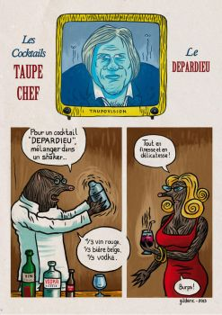 Taupe Chef Recettes : Cocktail Depardieu by gilderic