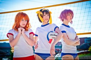 Bump, Set, Spike (TMOHS) - Colossalcon2012 by fuzzypanda0
