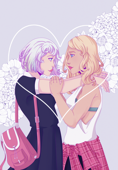 Exy Girlfriends by InAnOrdinaryWay