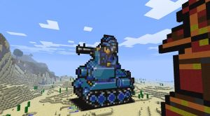 AdvanceWars L.TankBM Minecraft by GenralWar